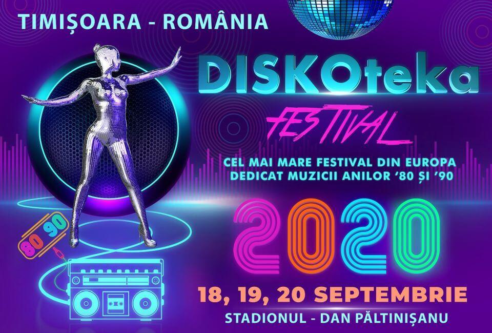 DISKOteka Festival amanat pentru perioada 18-20 septembrie 2020